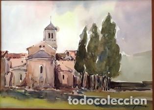Arte: CUADRO - PINTURA ACUARELA - ALT AMPURDA - JOSEP MARFA GUARRO - BARCELONA - AÑO 1990 - - Foto 2 - 154290410