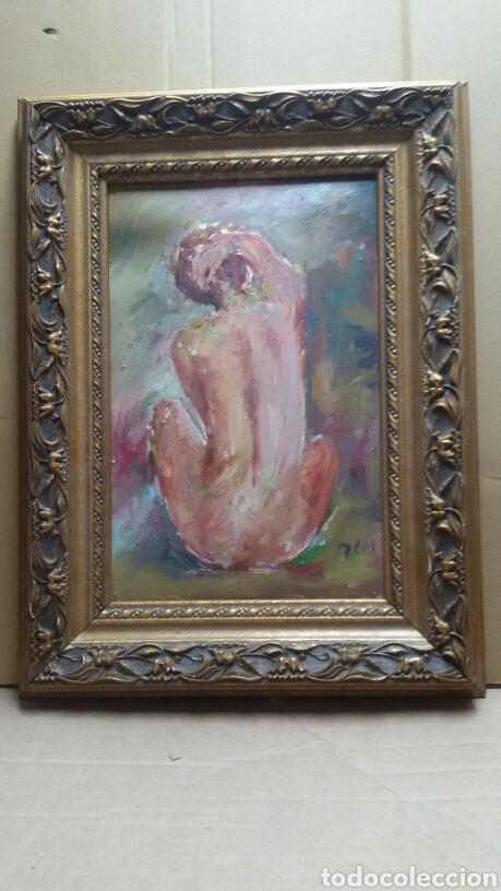 CUADRO DESNUDO ORIGINAL(ORIGINAL) (Arte - Pintura - Pintura al Óleo Contemporánea )