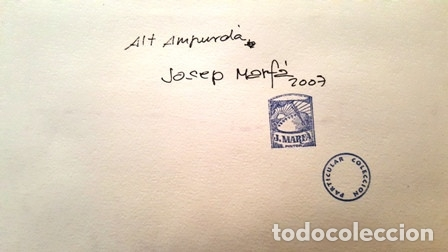 Arte: CUADRO - PINTURA ACUARELA - ALT AMPURDA - JOSEP MARFA GUARRO - BARCELONA - AÑO 2007 - - Foto 12 - 154291066