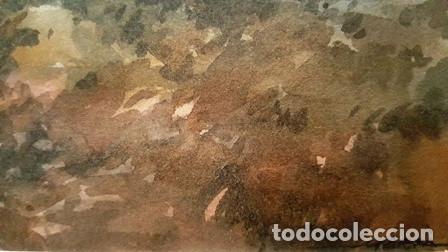 Arte: CUADRO - PINTURA ACUARELA - LLANÇA - JOSEP MARFA GUARRO - BARCELONA - AÑO 1985 - Foto 9 - 154298174