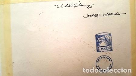 Arte: CUADRO - PINTURA ACUARELA - LLANÇA - JOSEP MARFA GUARRO - BARCELONA - AÑO 1985 - Foto 10 - 154298174