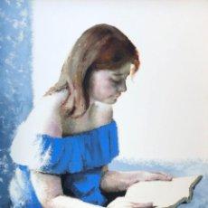 Arte: JOSEP LLUIS ARIMANY NICOLAU (1923-1999) - LA LECTORA - ÓLEO. Lote 154304622