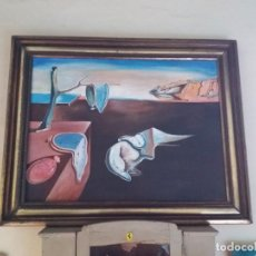 Arte: REPRODUCCIÓN DE LOS RELOJES FLÁCIDOS DE DALÍ. Lote 154331818