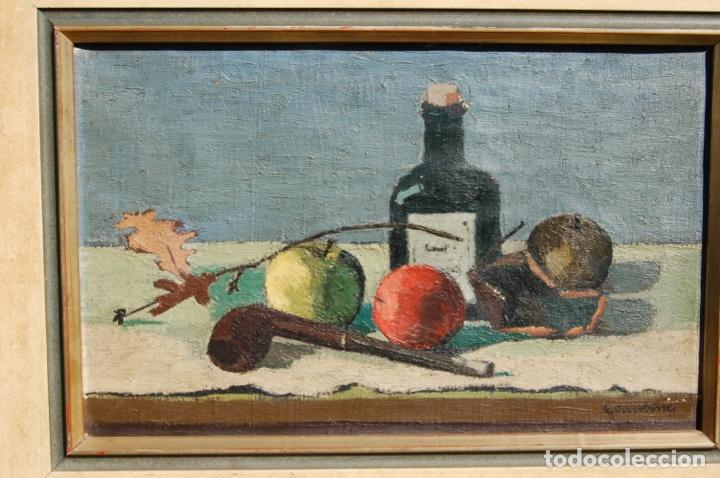 Arte: Preciosa pintura al óleo de 26x40 enmarcada en 36x50.Segundo cuarto s.XX. Kimsbink? - Foto 2 - 154415410