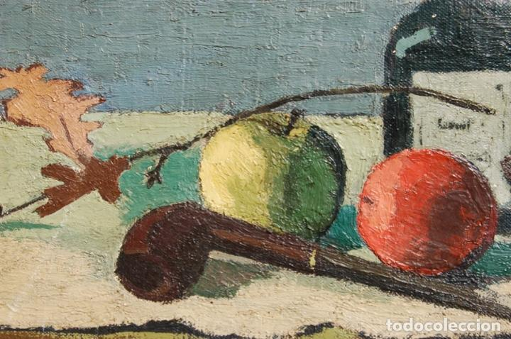 Arte: Preciosa pintura al óleo de 26x40 enmarcada en 36x50.Segundo cuarto s.XX. Kimsbink? - Foto 3 - 154415410
