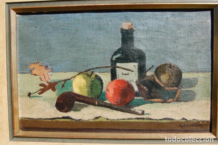 Arte: Preciosa pintura al óleo de 26x40 enmarcada en 36x50.Segundo cuarto s.XX. Kimsbink? - Foto 5 - 154415410