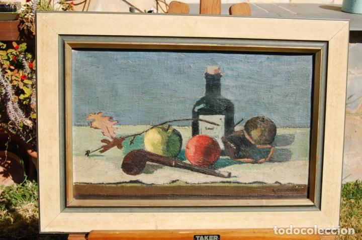 Arte: Preciosa pintura al óleo de 26x40 enmarcada en 36x50.Segundo cuarto s.XX. Kimsbink? - Foto 7 - 154415410