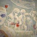 Arte: ESCENA DE QUIROFANO, OLEO SOBRE CARTON DURO. Lote 154429738