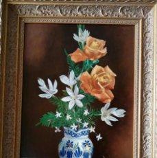 Arte - Jarrón con flores de Fernando Negro. - 154437646