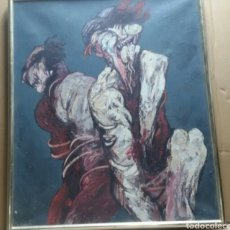 Arte: CUADRO IMPACTANTE JUAN VILLAFUERTE (1945-1977). Lote 154577910