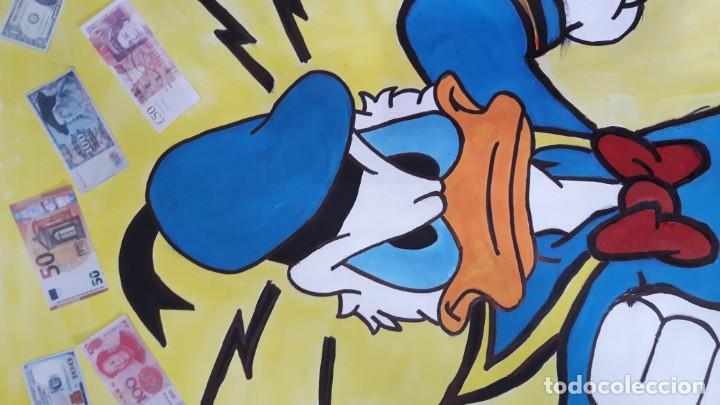 Arte: Donald. Acrílico sobre cartulina 65 X 50 CM. MANOLO IBÁÑEZ - Foto 2 - 154621982
