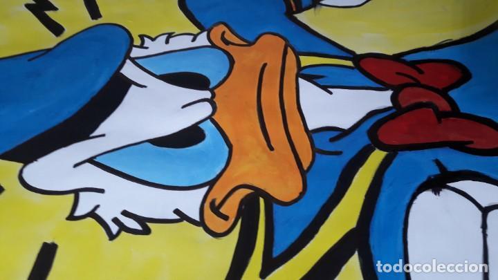 Arte: Donald. Acrílico sobre cartulina 65 X 50 CM. MANOLO IBÁÑEZ - Foto 4 - 154621982