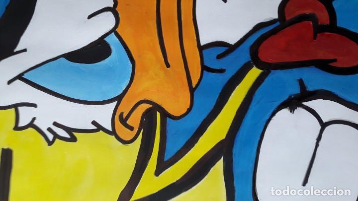 Arte: Donald. Acrílico sobre cartulina 65 X 50 CM. MANOLO IBÁÑEZ - Foto 6 - 154621982