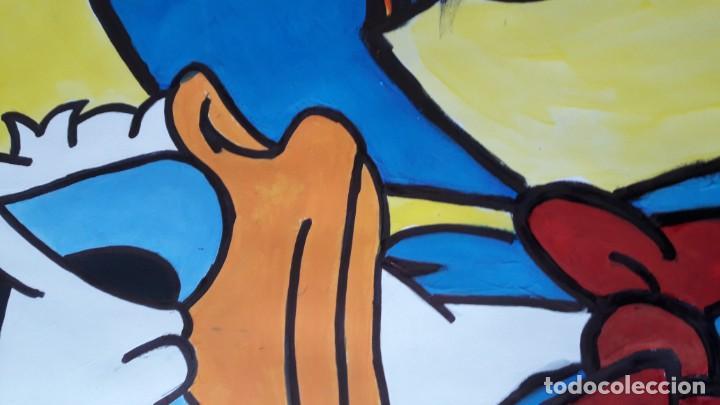 Arte: Donald. Acrílico sobre cartulina 65 X 50 CM. MANOLO IBÁÑEZ - Foto 7 - 154621982