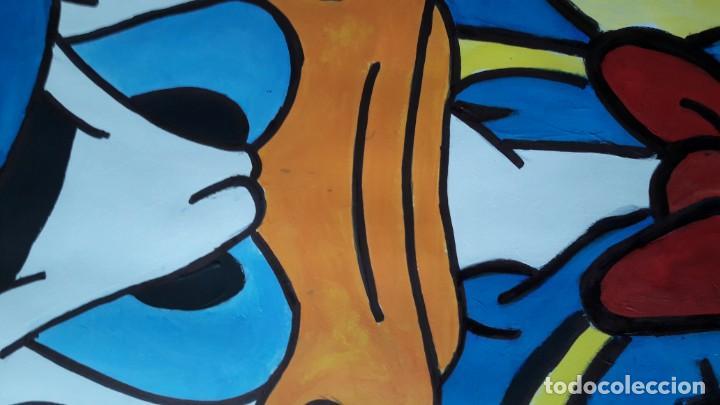 Arte: Donald. Acrílico sobre cartulina 65 X 50 CM. MANOLO IBÁÑEZ - Foto 8 - 154621982