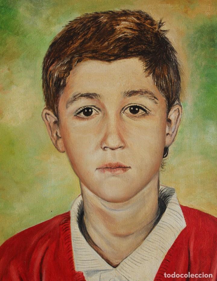 NIÑO OBRA DE GILABERTE (Arte - Pintura - Pintura al Óleo Contemporánea )