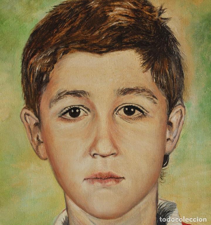Arte: Niño obra de Gilaberte - Foto 2 - 154627494