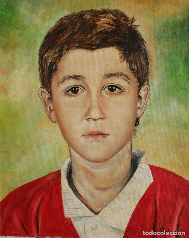 Arte: Niño obra de Gilaberte - Foto 3 - 154627494