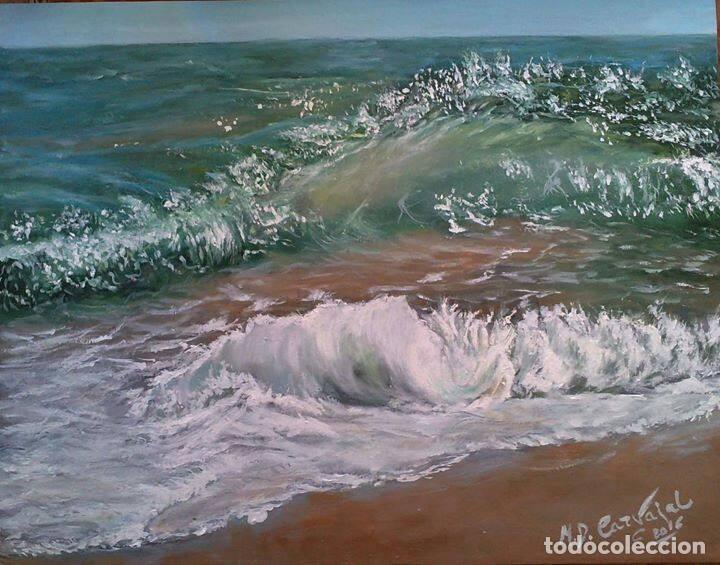 MARINA OLEO SOBRE LIENZO (Arte - Pintura - Pintura al Óleo Contemporánea )
