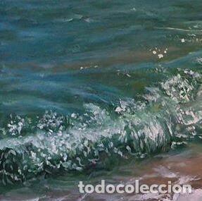 Arte: marina oleo sobre lienzo - Foto 2 - 154649586