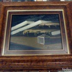 Arte: OLEO CON MARCO DE SANTIAGO TORRES PONS . Lote 154662778