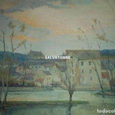 Arte: OLEO SOBRE CARTON. MM. KOROCHAUSKY. CIRCA 1900.PARIS. FRANCIA.. Lote 154675990
