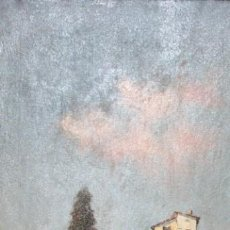 Arte: SEGUIDOR DE MARTIN RICO. OLEO SOBRE TELA DE APROXIMADAMENTE 1890. PAISAJE ANDALUZ. Lote 154793106