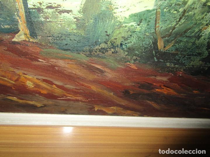 Arte: ANTIGUA PINTURA OLEO FIRMADO procedencia de alicante mediados de siglo pasdado - Foto 3 - 154827966