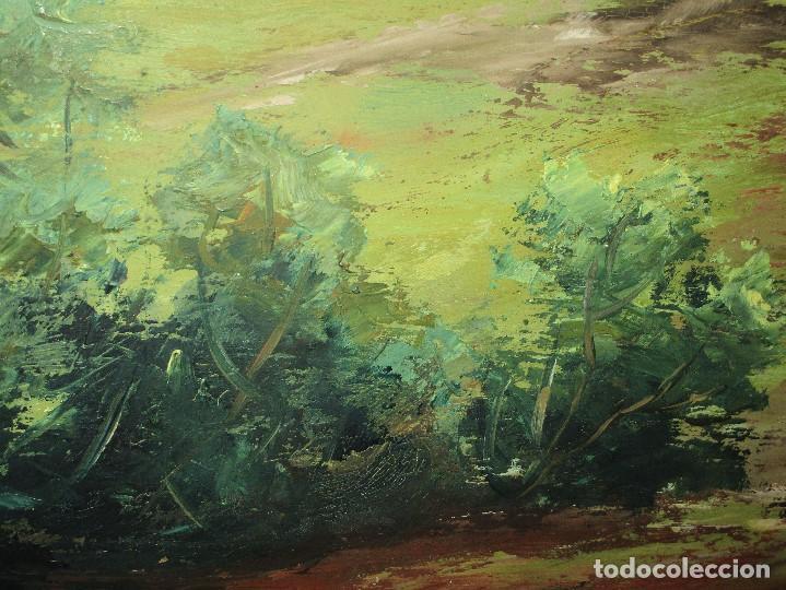 Arte: ANTIGUA PINTURA OLEO FIRMADO procedencia de alicante mediados de siglo pasdado - Foto 8 - 154827966