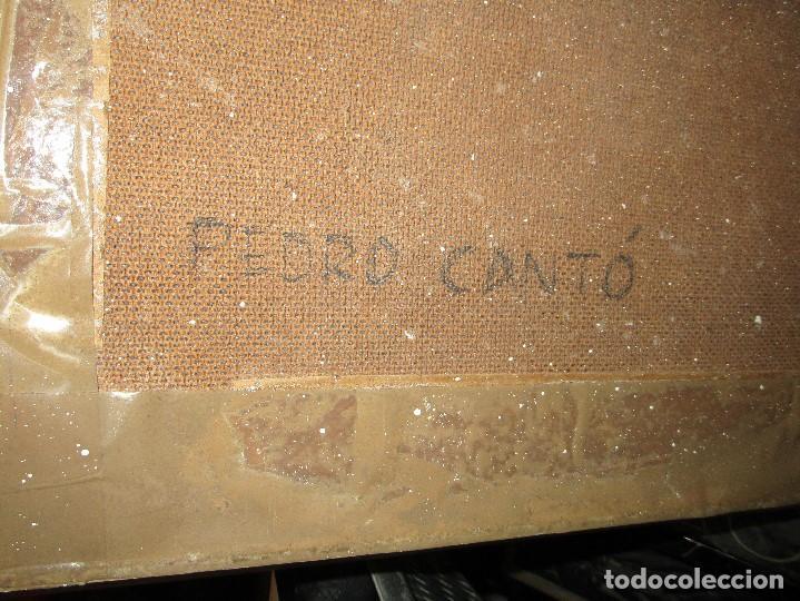 Arte: ANTIGUA PINTURA OLEO FIRMADO procedencia de alicante mediados de siglo pasdado - Foto 9 - 154827966