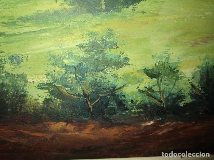 Arte: ANTIGUA PINTURA OLEO FIRMADO procedencia de alicante mediados de siglo pasdado - Foto 11 - 154827966