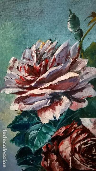 Arte: Pintura al óleo sobre tablero.Medida pintura 38x46.Con marco58x66 - Foto 3 - 154853818