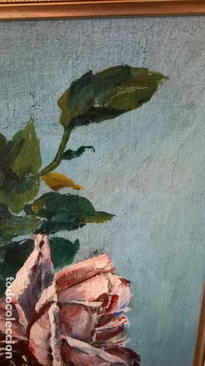 Arte: Pintura al óleo sobre tablero.Medida pintura 38x46.Con marco58x66 - Foto 4 - 154853818
