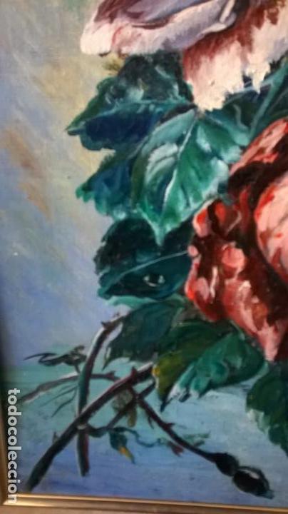 Arte: Pintura al óleo sobre tablero.Medida pintura 38x46.Con marco58x66 - Foto 6 - 154853818