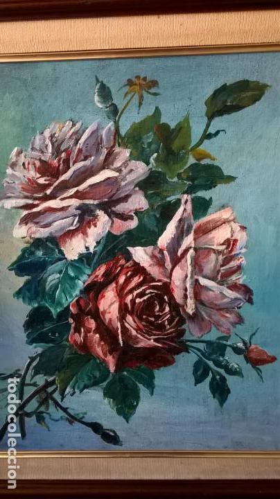 Arte: Pintura al óleo sobre tablero.Medida pintura 38x46.Con marco58x66 - Foto 7 - 154853818