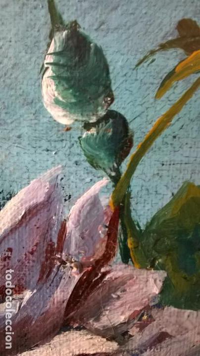Arte: Pintura al óleo sobre tablero.Medida pintura 38x46.Con marco58x66 - Foto 8 - 154853818