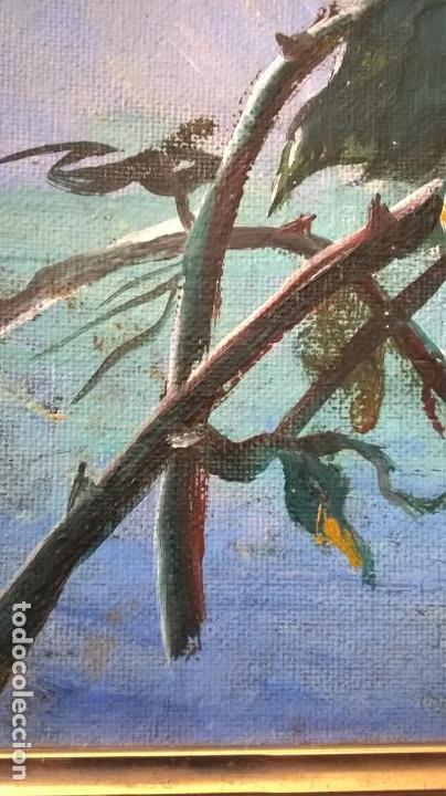 Arte: Pintura al óleo sobre tablero.Medida pintura 38x46.Con marco58x66 - Foto 10 - 154853818
