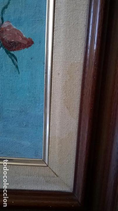 Arte: Pintura al óleo sobre tablero.Medida pintura 38x46.Con marco58x66 - Foto 12 - 154853818