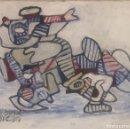 Arte: EL HOM 3 COLORS EN LA MOTOR. Lote 154855182