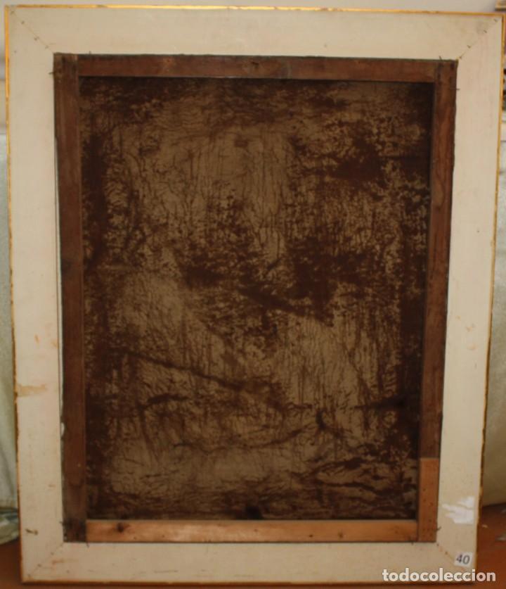 Arte: ESCUELA ESPAÑOLA DEL SIGLO XVIII. OLEO SOBRE TELA DE AUTOR ANONIMO. ECCE HOMO - Foto 13 - 154889274
