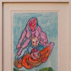 Arte: FRANCISCO MATEOS GONZÁLEZ. TÍTULO: COMO EL VIENTO . Lote 154940918