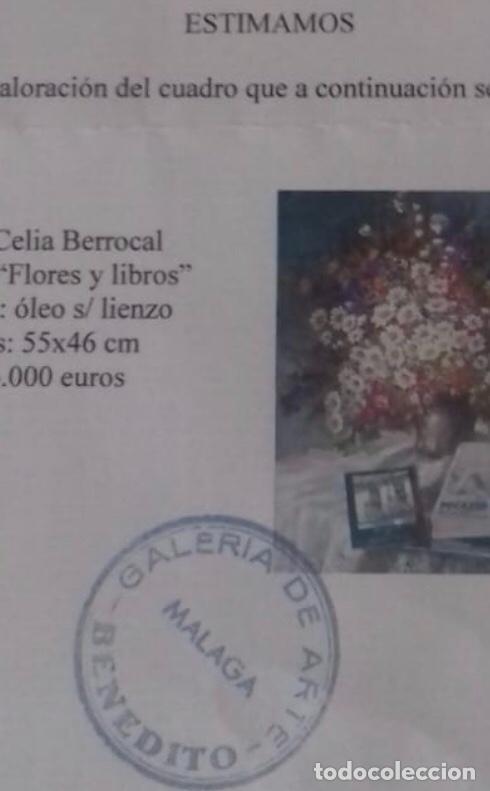 Arte: Flores y libros de Celia Berrocal - Foto 2 - 155003194