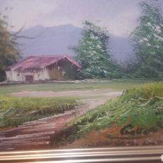 Arte: PINTURA PAISAJÍSTICA ANTIGUA CONFIRMA DE PINTOR. Lote 155014829