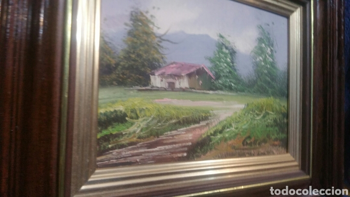 Art: Pintura paisajística antigua confirma de pintor - Foto 2 - 155014829