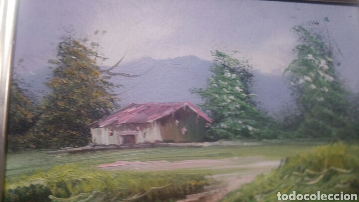 Art: Pintura paisajística antigua confirma de pintor - Foto 5 - 155014829