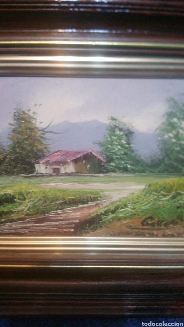 Art: Pintura paisajística antigua confirma de pintor - Foto 8 - 155014829