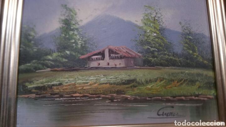 CUADRO PAISAJISTICO ANTIGUO CON FIRMA DE PINTOR (Art - Painting - Contemporary Painting)
