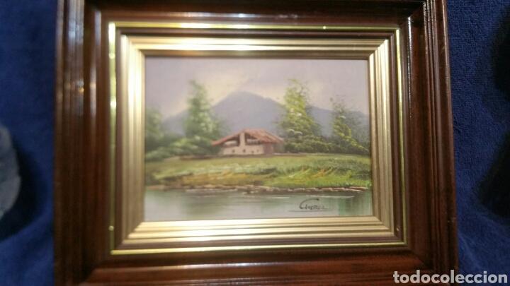 Art: Cuadro paisajistico antiguo con firma de pintor - Foto 2 - 155015890