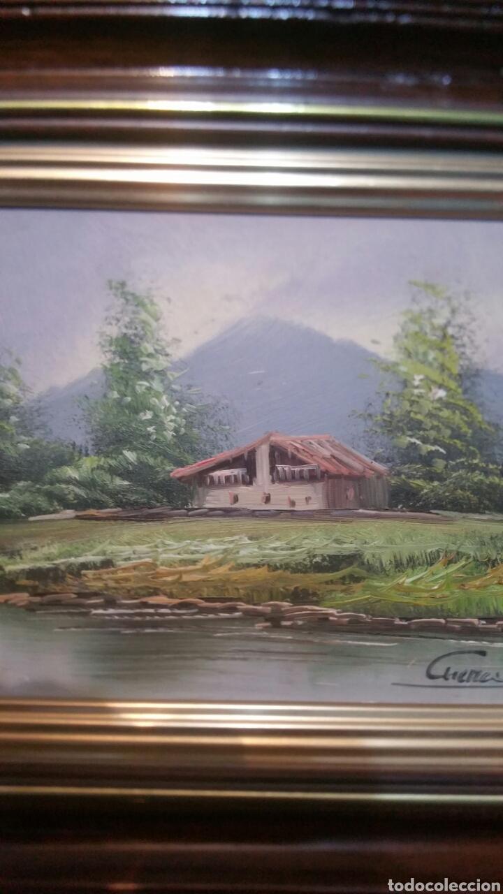 Art: Cuadro paisajistico antiguo con firma de pintor - Foto 3 - 155015890