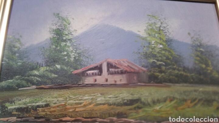 Art: Cuadro paisajistico antiguo con firma de pintor - Foto 6 - 155015890